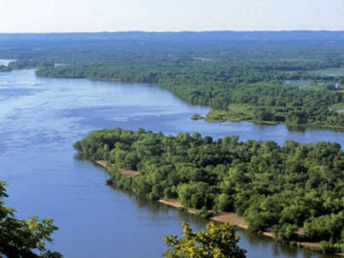 Le Mississippi, les caprices d'un fleuve